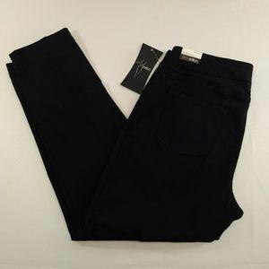 New SlimSation Multiples 16 Pants Black Pull On